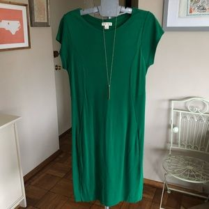 Reiss Kelly Green Jersey Dress